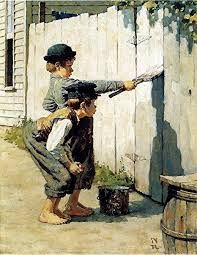 Image result for tom sawyer fence