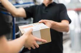 Image result for handing a package
